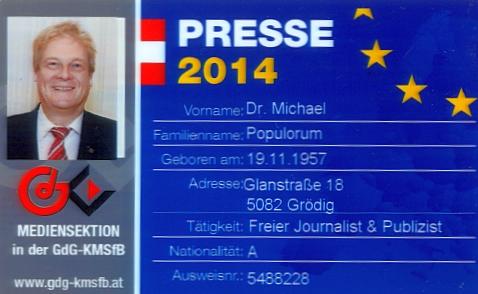 EU Presseausweis Younion