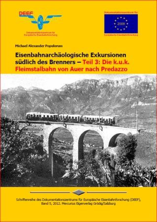 DEEF DVD Fleimstalbahn