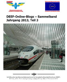 DEEF Onlineblogs 2013