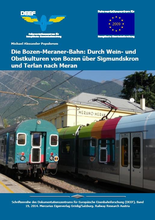 DEEF DVD Bozen-Meraner-Bahn