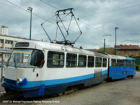 Tatra Tram Sarajevo Hbf