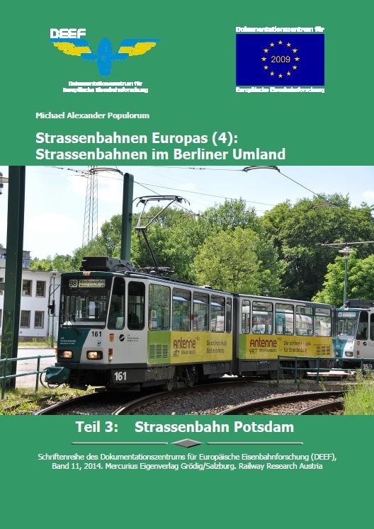 DEEF DVD Straßenbahn Potsdam
