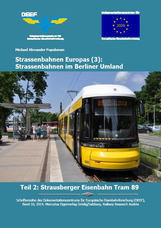 DEEF DVD Strausberger Eisenbahn Tram