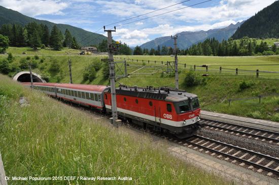 ÖBB IC Tauernbahn Kaponigtunnel